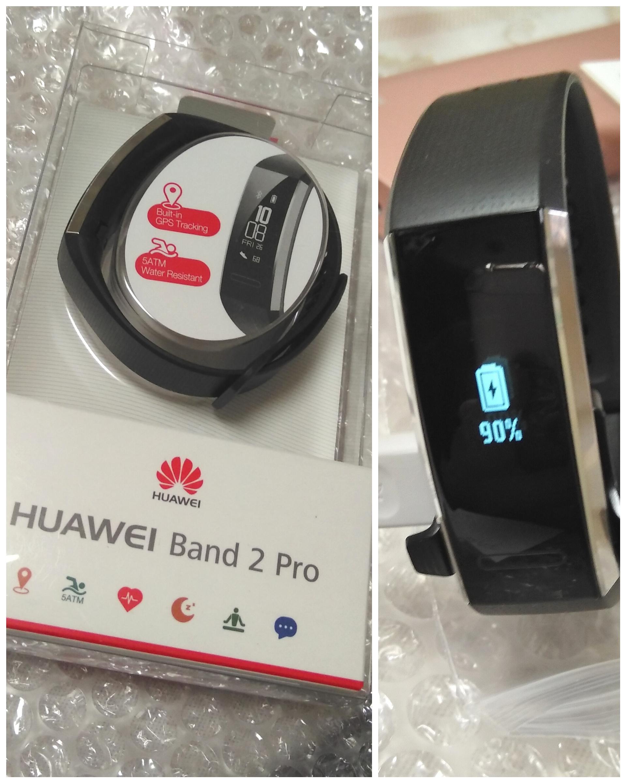 huawei band 2 pro instructions